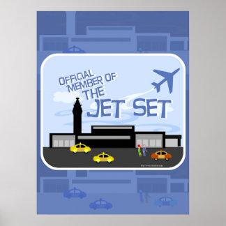 The Jet Set! Poster