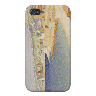 The Jetty at Cassis, Opus 198 - Paul Signac iPhone 4 Case