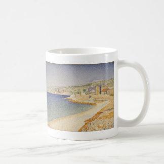The Jetty at Cassis, Opus 198 - Paul Signac Classic White Coffee Mug