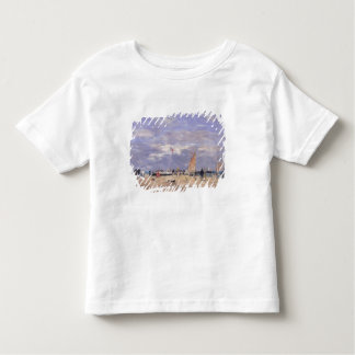 The Jetty at Deauville, 1869 Toddler T-shirt