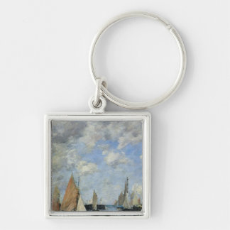 The Jetty at High Tide, Trouville Keychains