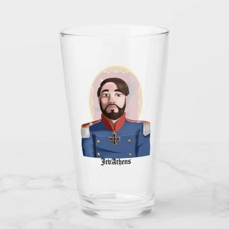 The JevAthens Beer Glass