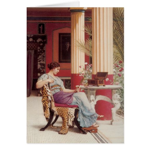 The Jewel Casket Fine Art Greeting Card