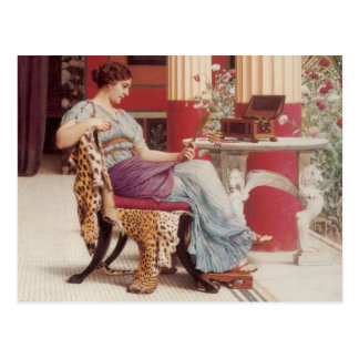 The Jewel Casket Fine Art Postcard
