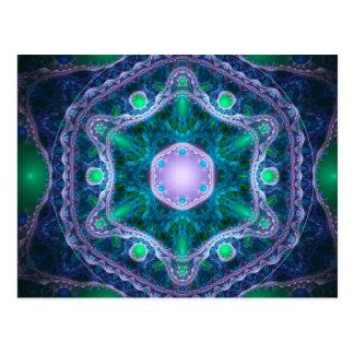 The Jewel in the Lotus Postcard
