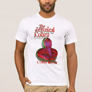 The Jeweled Cobra Tshirt with red, green and gold
