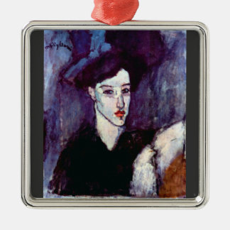 The Jewess by Amedeo Modigliani Christmas Tree Ornament