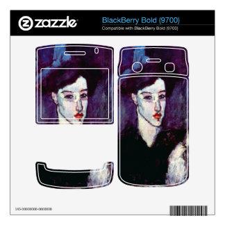 The Jewess by Amedeo Modigliani BlackBerry Skin