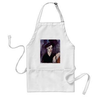 The Jewess By Modigliani Amedeo Aprons