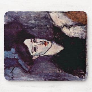 The Jewess By Modigliani Amedeo Mousepad