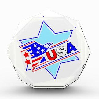 The Jewish American Acrylic Award