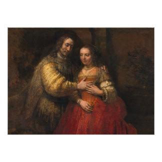 The Jewish Bride by Rembrandt van Rijn Photo