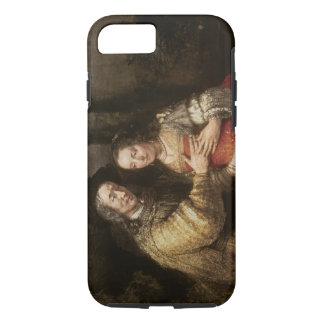 The Jewish Bride, c.1667 (oil on canvas) iPhone 8/7 Case