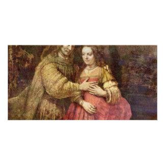 The Jewish Bride (The Couple) By Rembrandt Van Rij Card