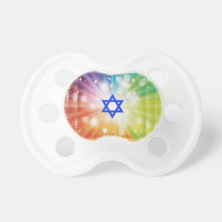 The Jewish burst of lights Pacifiers