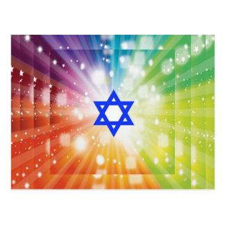 The Jewish burst of lights Postcards