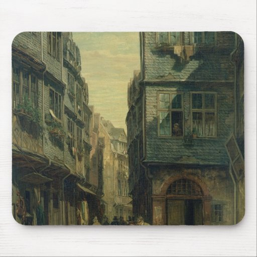 The Jewish Quarter in Frankfurt, 1883 Mouse Pads