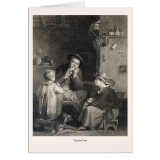 The Jews Harp Greeting Card