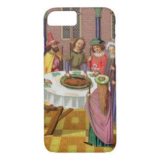 The Jews' Passover, facsimile of a 15th century mi iPhone 8/7 Case