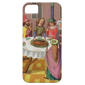 The Jews' Passover, facsimile of a 15th century mi iPhone SE/5/5s Case