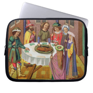 The Jews' Passover, facsimile of a 15th century mi Laptop Sleeve