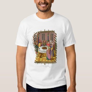 The Jews' Passover, facsimile of a 15th century mi T-Shirt