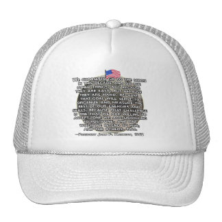 The JFK Quote That Sent Humans to the Moon Trucker Hat