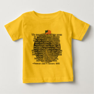 The JFK Quote That Sent Humans to the Moon Tee Shirts