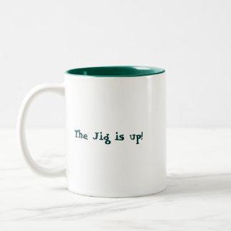 The Jig Is Up! Mug