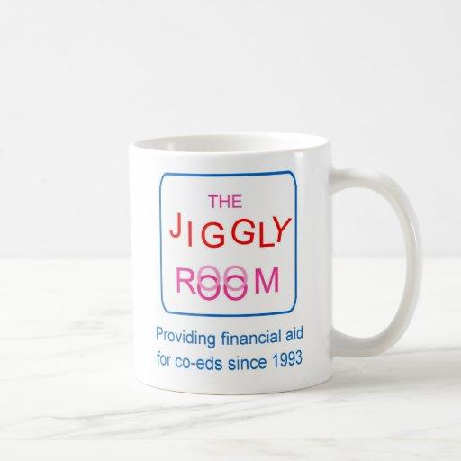 The Jiggly Room Coffee Mugs