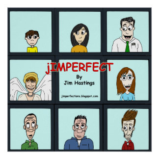 The jIMPERFECT Bunch Poster