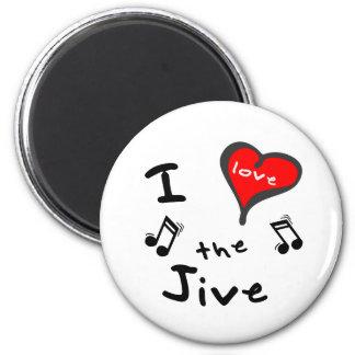the Jive Gifts - I Heart the Jive Magnet