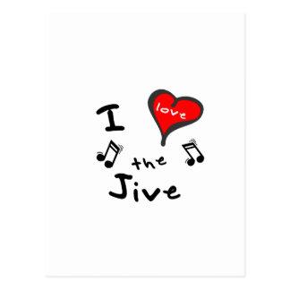 the Jive Gifts - I Heart the Jive Postcard