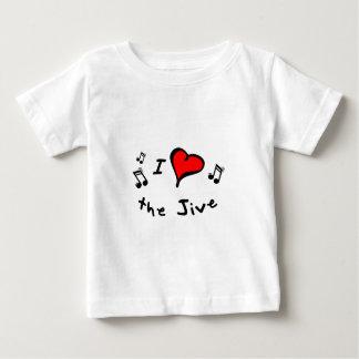 the Jive I Heart-Love Gift Baby T-Shirt