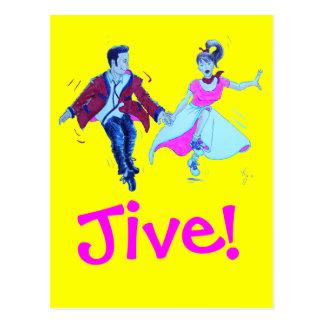 The Jivers! Postcard