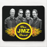 """The JMZ Band """"Busted"""" Mouse Pad"""
