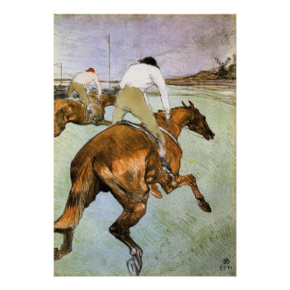 The Jockey 2 by Toulouse-Lautrec Poster