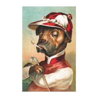 The Jockey Canvas Print