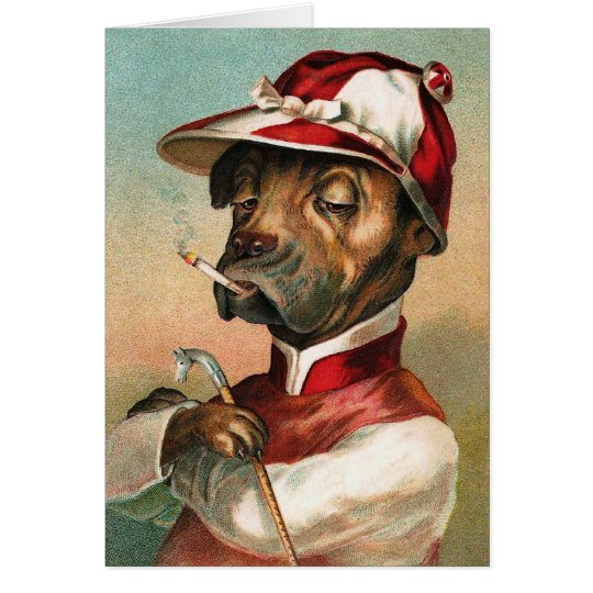 The Jockey Card