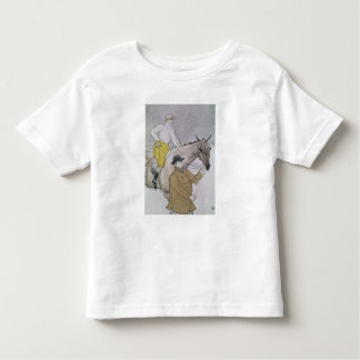 The jockey led to the start toddler t-shirt