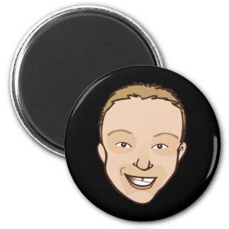 The Joel 2 Inch Round Magnet