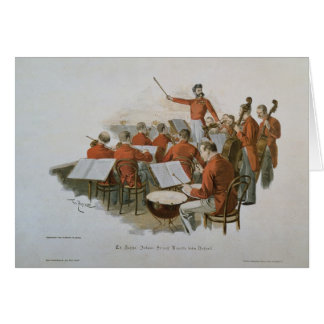 The Johann Strauss Orchestra at a Court Ball Greeting Cards