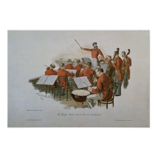 The Johann Strauss Orchestra at a Court Ball Poster