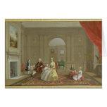 The John Bacon Family, c.1742-43 (oil on canvas) Card