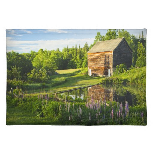 The John Brown Farm in the Adirondacks, N.Y. Placemat