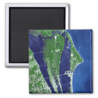 The John F Kennedy Space Center 2 Inch Square Magnet