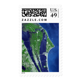 The John F Kennedy Space Center Postage Stamp