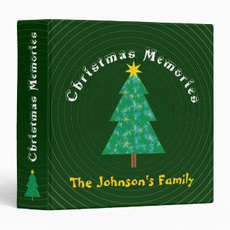 The Johnson's Family   Christmas Memories 3 Ring Binder