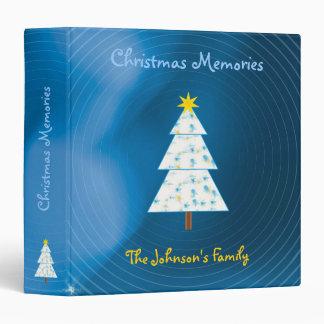 The Johnson's Family | Christmas Memories 3 Ring Binder