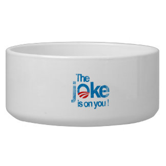 The Joke is on you Faded.png Dog Water Bowls